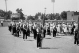 Fort Lorame Band at the mass on the ball diamond