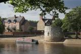 York houseboat