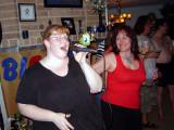 Shaz kicks it out!  Karaoke is going for sure!