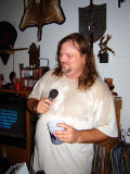Yes, I gave a drunk Larry the mic.   So, I made a mistake