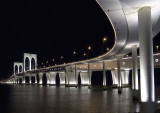 1st place at dpreview challenge - Night shot of a bridge with a compact camera