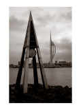 Tidal Clock and Spinnaker Tower