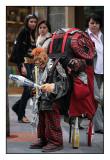 Small Backpacking juggler