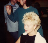 1979  Jane  High hair...It was a revolution at the time in stockholm