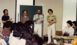 The young Tony RIZZo and SANtilli working in Osaka, Japan 1978 when SanRizz started