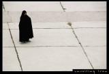 'Chador'  Black Tent Lady