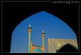 Inside Imam Mosque, Esfahan