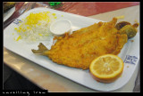 Fish, Deep Fried served with Rice