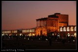 Ali Qapu Palace at Night