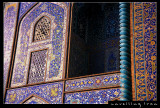 Blue Tiles Decoration, Imam Mosque
