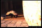 Praying at Friday Moasque