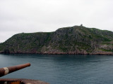Fort Amherst with a view of Signal Hill