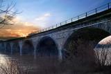 Rockville Bridge at Sunset