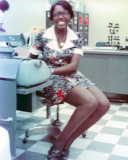 1973 - Doris Bendross, civilian secretary to Chief, Reserve Division, CCGDSEVEN(r)