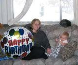 October 2006 - Karen and Kyler on Karen's 30th birthday