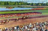 Hialeah Park in its heyday (postcard)