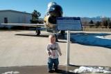 December 2006 - Kyler and North American F-86L Sabre Dog #AF53-0782