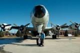 December 2006 - Kyler and Karen with Lockheed EC-121T Warning Star #AF52-3425