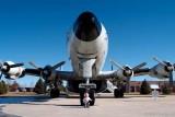 December 2006 - Kyler with Lockheed EC-121T Warning Star #AF52-3425