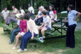 1974 - Coast Guard Reservists participating in sports activities at Reserve Training Center Yorktown, VA