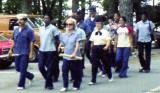 1974 - Yeoman Class marching at the CG Reserve Training Center Yorktown, VA