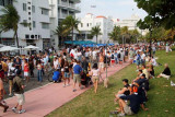 2007 Super Bowl Saturday on Ocean Drive, South Beach - click on the image to view