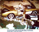 1960 - George W. Young's 1957 Corvette Fuelie at the 2nd Annual International Autorama at Dinner Key Auditorium