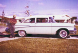 John Collins and his 1957 Chevy coupe