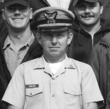 1970 - CWO4 (BOSN) Rex W. Coulson, Commanding Officer of Coast Guard Station Lake Worth Inlet on Peanut Island 1966-1970