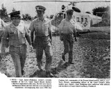 1970 - CWO4 Rex W. Coulson, new Group Miami CAPT James Hodgman and LORAN Station Jupiter CO LTJG Terry Drown