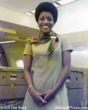 1973 - Lourdes Medina, a pretty National Airlines Flight Attendant