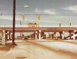1971 - Looking north on NW 67 Avenue (Ludlam Road) at the Palmetto Expressway