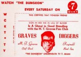 1950s & 60s - Charlie Baxter's The Dungeon and Graves Diggers Club