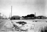 1921 - the Florida Power & Light substation and fuel tanks along the County Causeway between Miami and Miami Beach, Florida