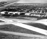 1940 - Pan American Hangars and 36th Street Terminal at Pan American Field, Miami