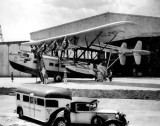 1931 - Passengers boarding Pan American Airways System Sikorsky S-40 NC-81V Caribbean Clipper at Dinner Key