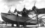 1935 - Pan American Airways System Sikorsky S-42 maintenance at Dinner Key
