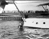 1931 - Pan American Airways System Sikorsky S-40 in the water at Dinner Key