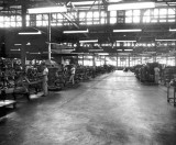 1950s - Pan American assembly line for aircraft engines at Miami International Airport