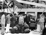 1929 - Arrival of first airmail from Panama, Pan American Airways System