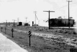 1963 - Lindsey Lumber yard building and US 1 looking southbound at intersection of SW 104th Street