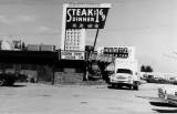 1964 - one of Jack Silver and Herb Brodsky's Black Angus restaurants, this one on Collins Avenue (A1A) in Sunny Isles
