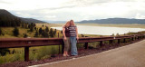 2007 - Karen Kramer and Donna at Eagle Nest Lake, New Mexico