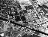 1960s - Aerial view of southeast Hialeah in the upper portion