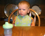 March 2007 - Kyler in our dining room