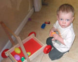 March 2007 - Kyler playing at our home
