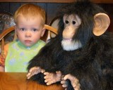 March 2007 - Kyler and Donna's monkey