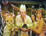 1960s - Rick Shaw on his Saturday Hop TV show on WLBW-TV Channel 10
