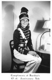 1941 - Rose Farrell in her Miami Edison Cadet uniform