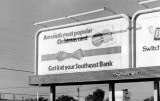 1972 - Southeast Bank billboard at 7390 Bird Road, Miami
